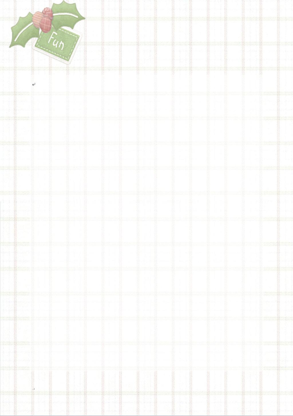格子布信纸模板模板下载(图片编号:12226016)