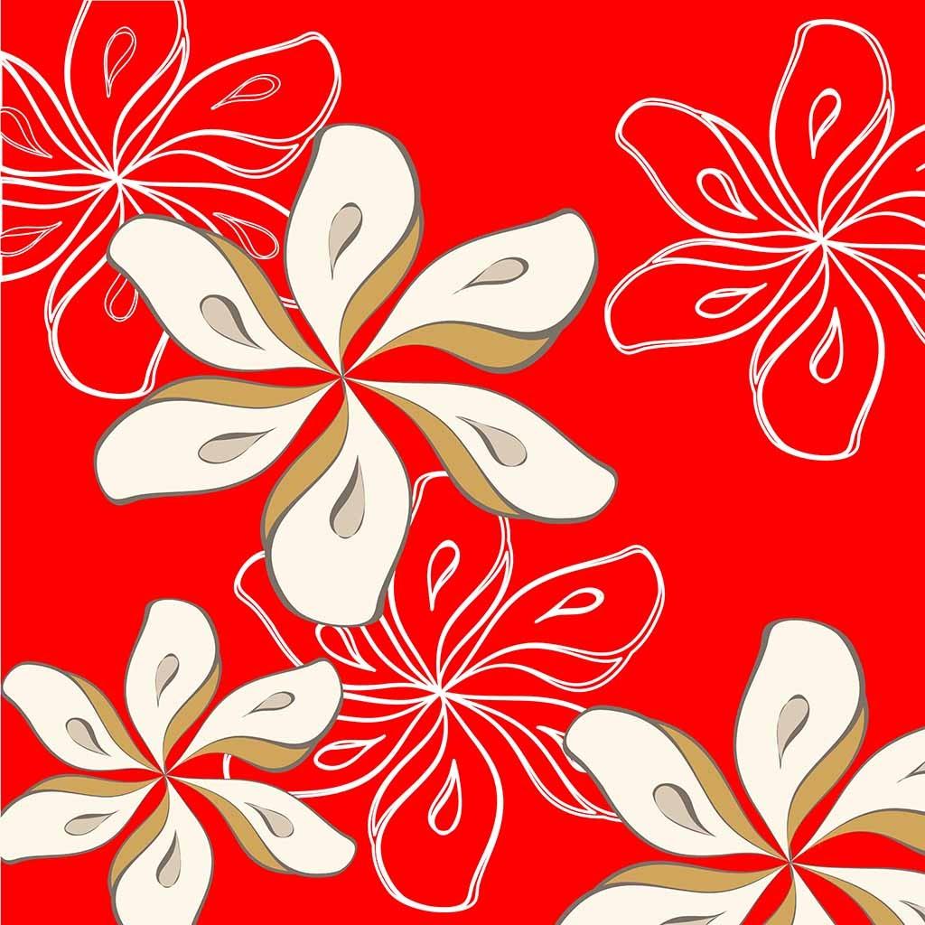 白百合花朵花卉葵花鲜花儿装饰画中堂画背景