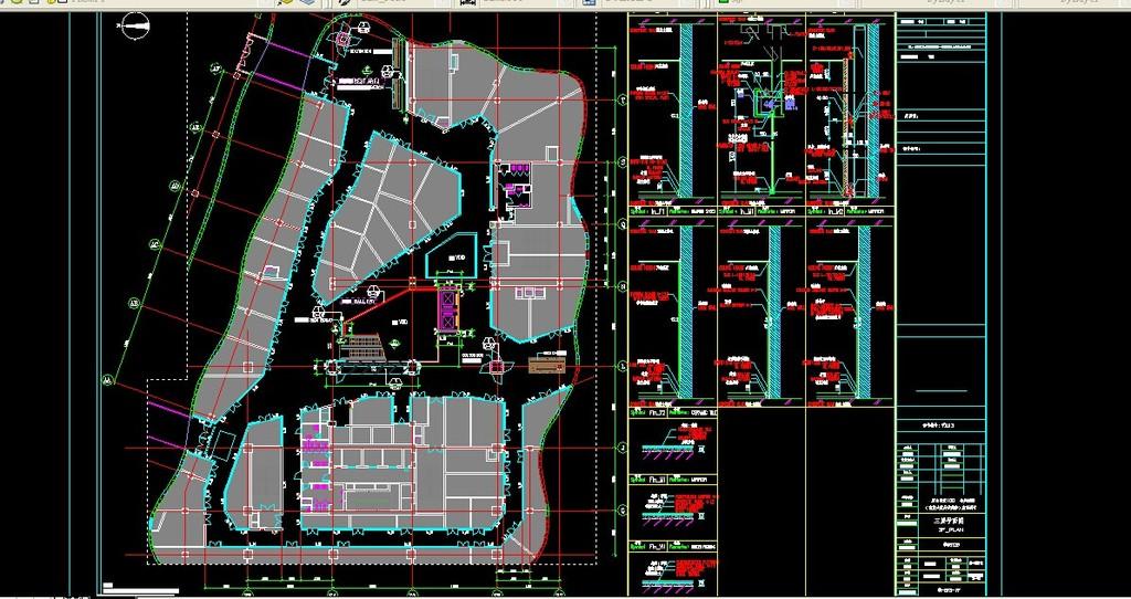 我图网提供精品流行烟台商场公共区域设计素材下载,作品模板源文件可以编辑替换,设计作品简介: 烟台商场公共区域设计,,使用软件为 AutoCAD 2007(.dwg) 商场设计 商场图纸 商场方案 商场施工图 商场CAD