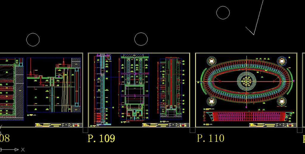 会所图纸模板下载(图片编号:12235019)_工装施工cad