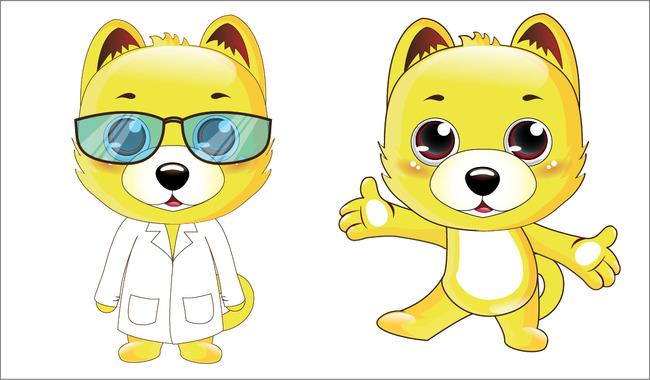 平面设计 其他 插画|元素|卡通 > 小狗狗生肖动物可爱卡通吉祥物卡通