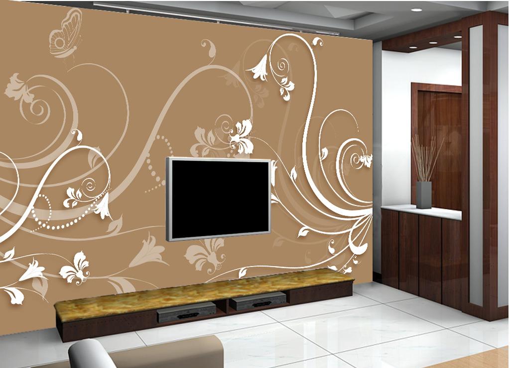 3d花卉电视背景墙模板下载(图片编号:12241064)
