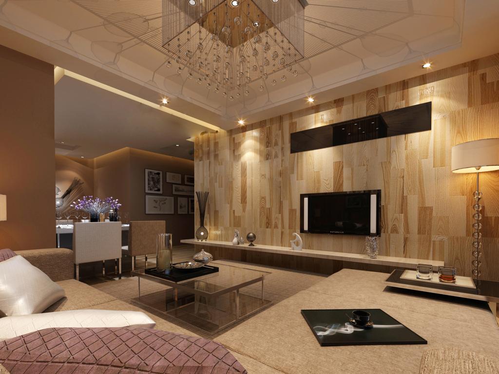 室内设计现代简约风格效果图