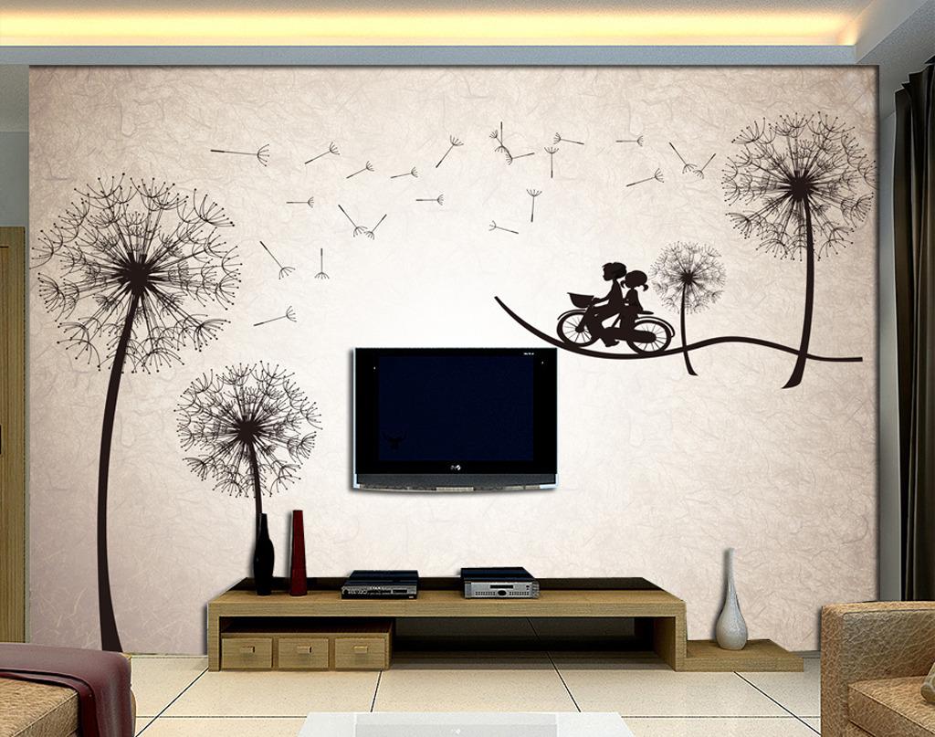 蒲公英电视墙图片