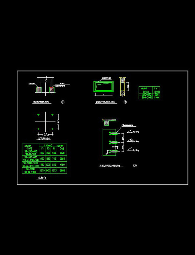 cad图库 室内设计cad图库 cad图纸 > 变压器土建cad图纸