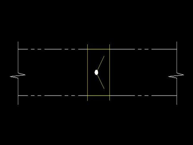 风管止回阀CAD图纸模板下载(图片编号:12250