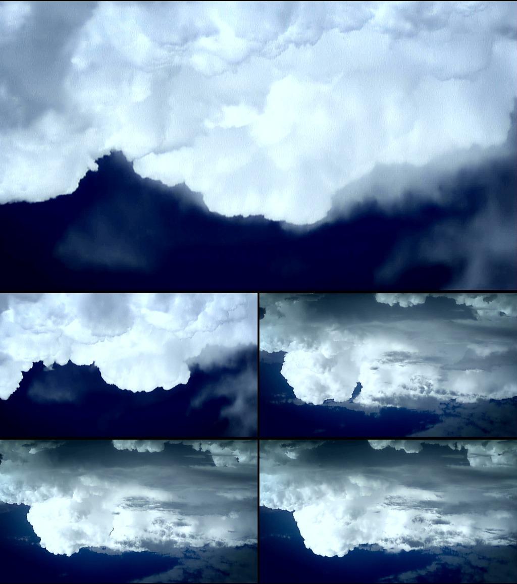 白云翻滚模板下载 白云翻滚图片下载 白云翻滚 滚滚的白云 动态白云