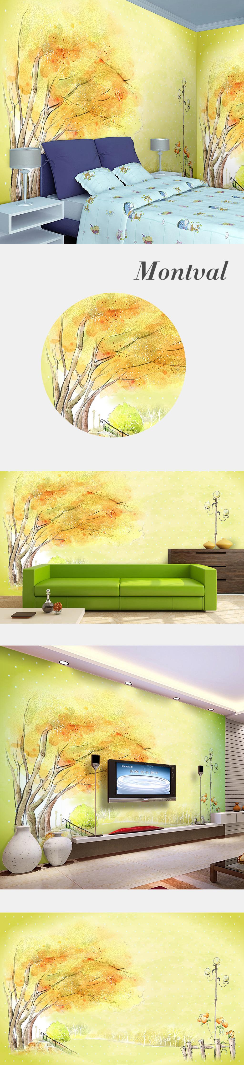 手绘卡通可爱卡通装修背景墙图片下载 电视背景墙背景墙幼儿园墙面