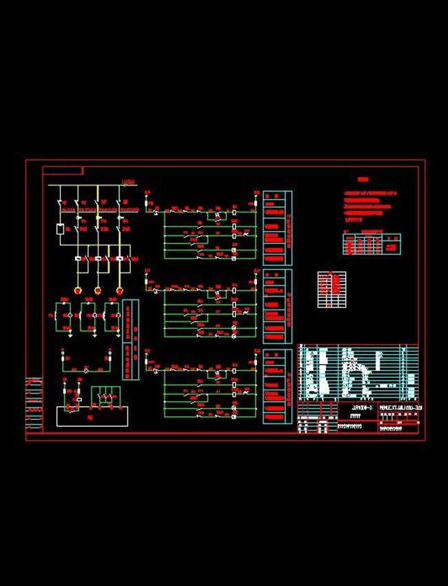 控制箱标准cad图纸模板下载(图片编号:12255829)