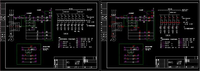 电动阀控制原理图cad图纸图片