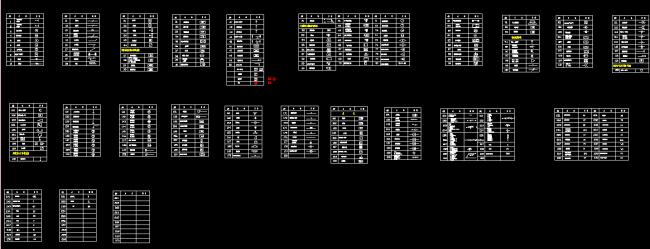 弱电工程图标图库cad图纸