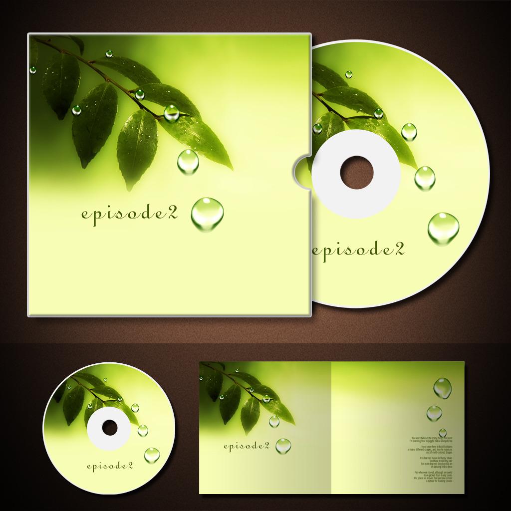 cd光盘封面 光盘包装盒