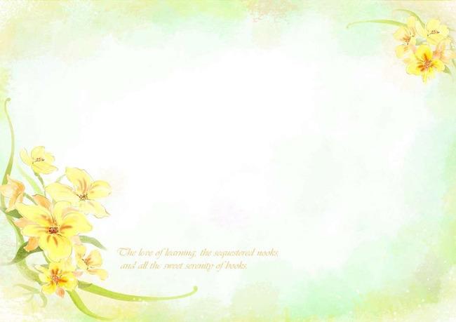 植物花草信纸背景模板下载(图片编号:12261057)_信纸
