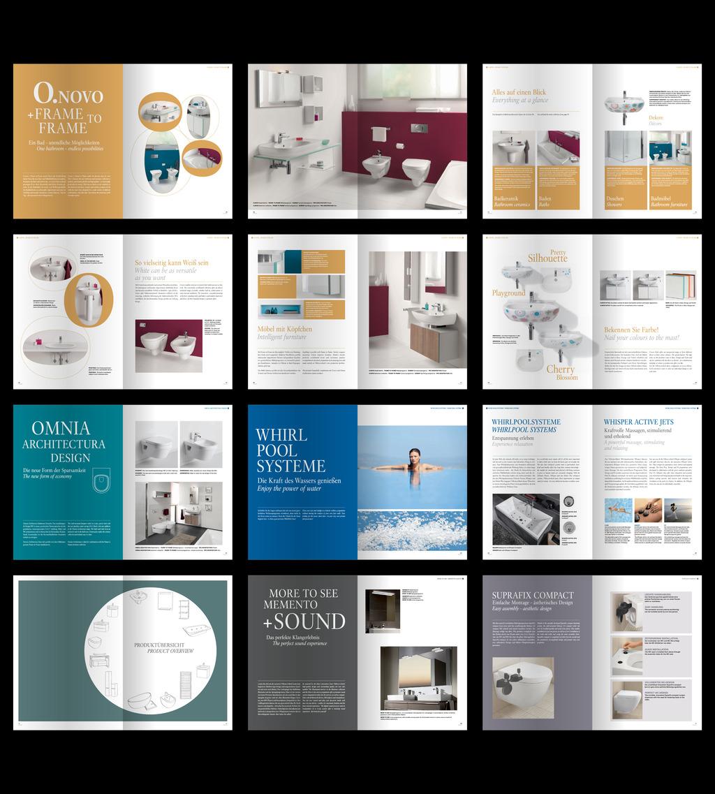 卫浴产品系列画册展示文本图片