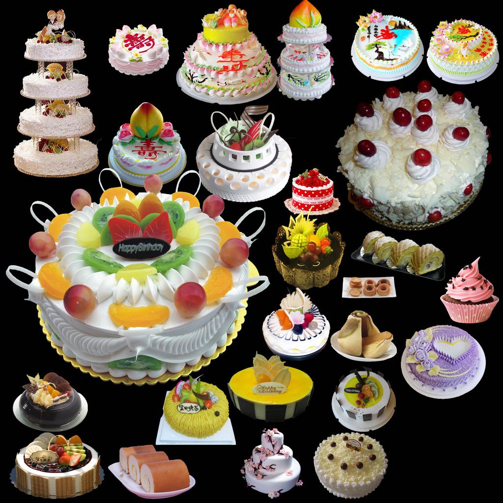 蛋糕/[版权图片]蛋糕冰淇凌小点心甜点