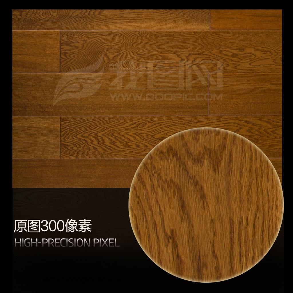 仿古橡木地板木纹贴图