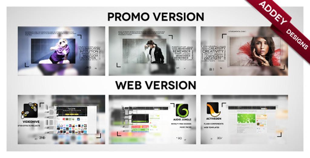 企业公司网站宣传模板ae片头照片模板模板下载