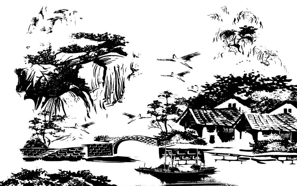 蔷薇 时尚背景墙 玫瑰_第7页_乐乐简笔画