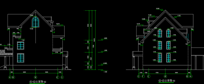 别墅cad设计图模板下载(图片编号:12280813)