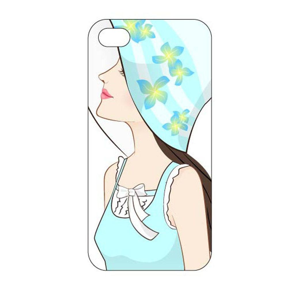 彩色人物元素创意手机壳设计模板
