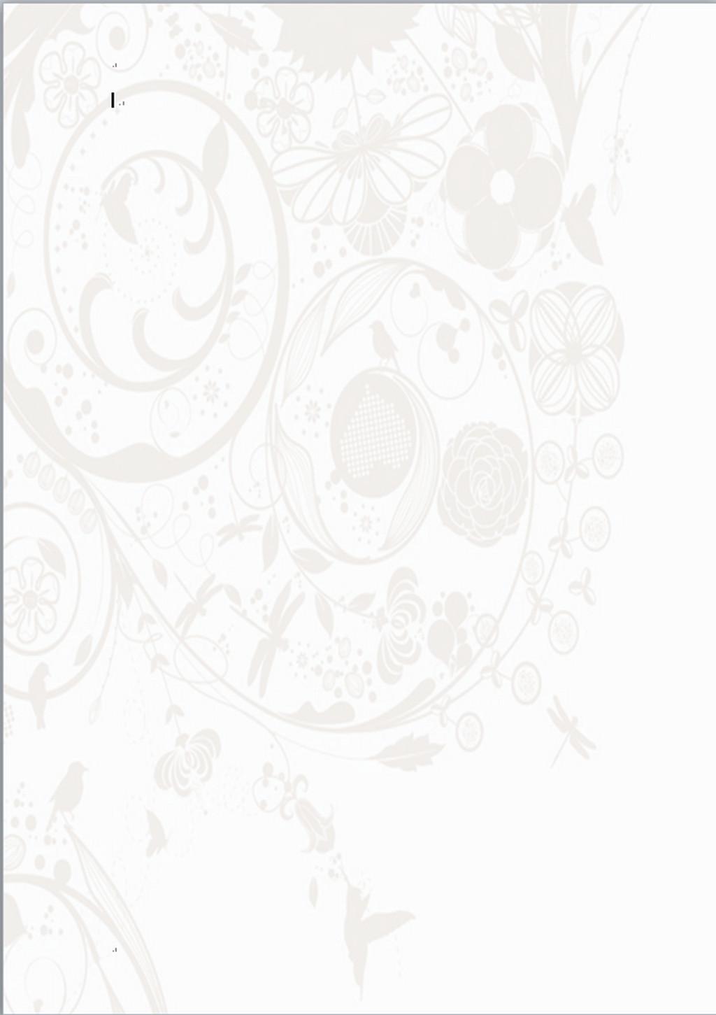 背景板word手绘海报