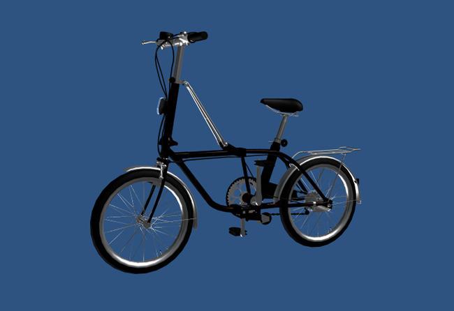 3d模型下载自行车模板下载