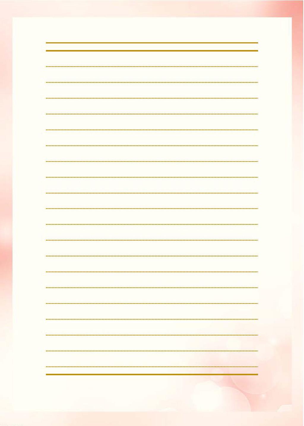 清新淡雅粉色边框信纸背景图片