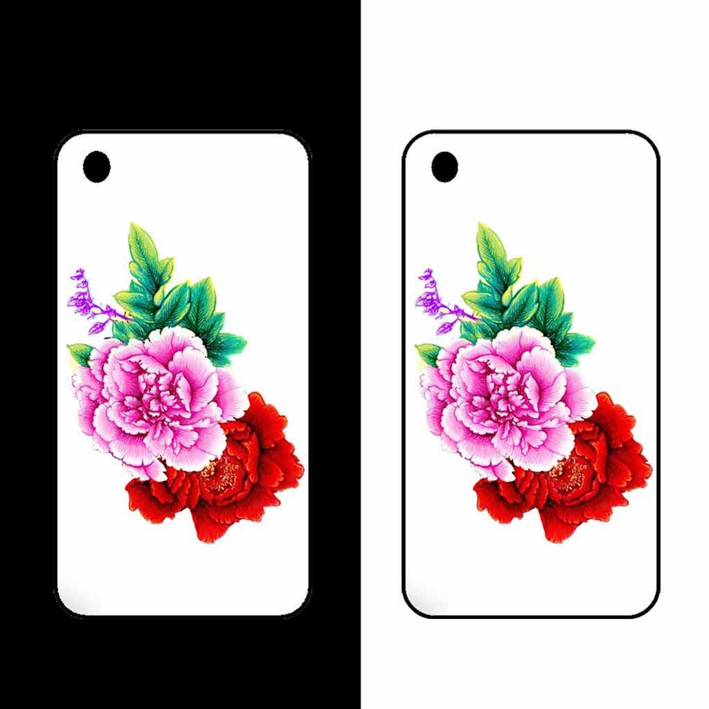 中国风花卉手机壳图案设计