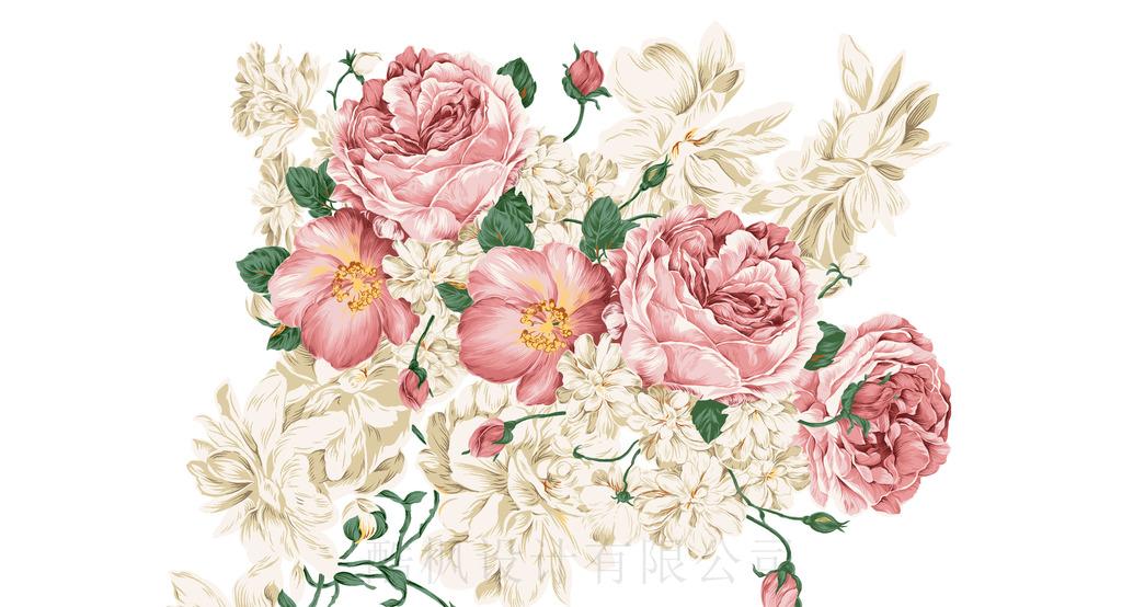 手绘牡丹花模板下载 手绘牡丹花图片下载