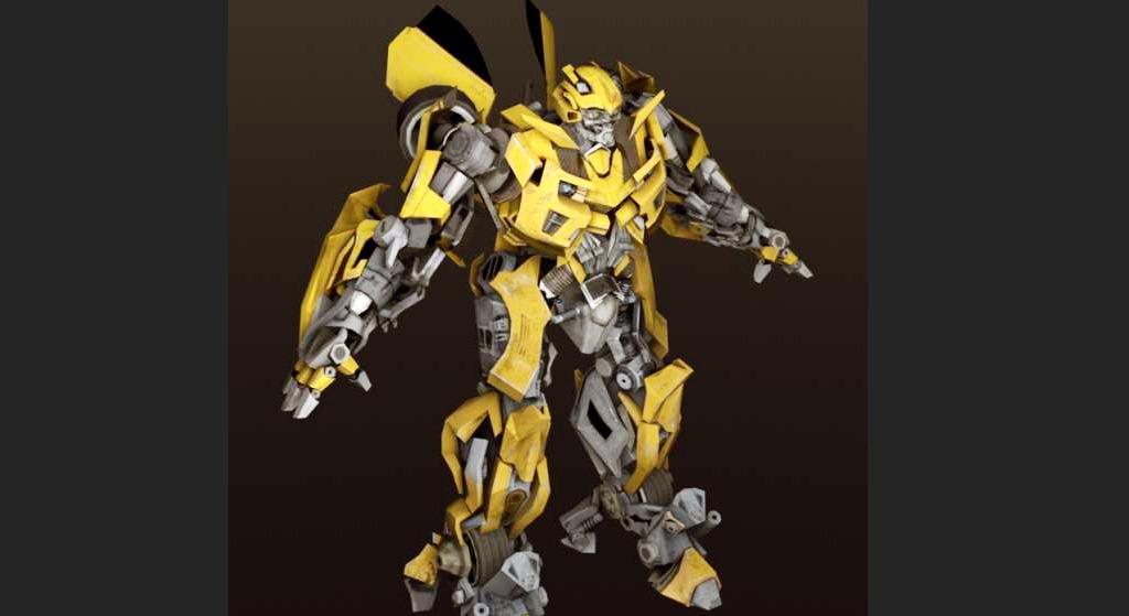 3d变形金刚模型 变形金刚大黄蜂3d模型