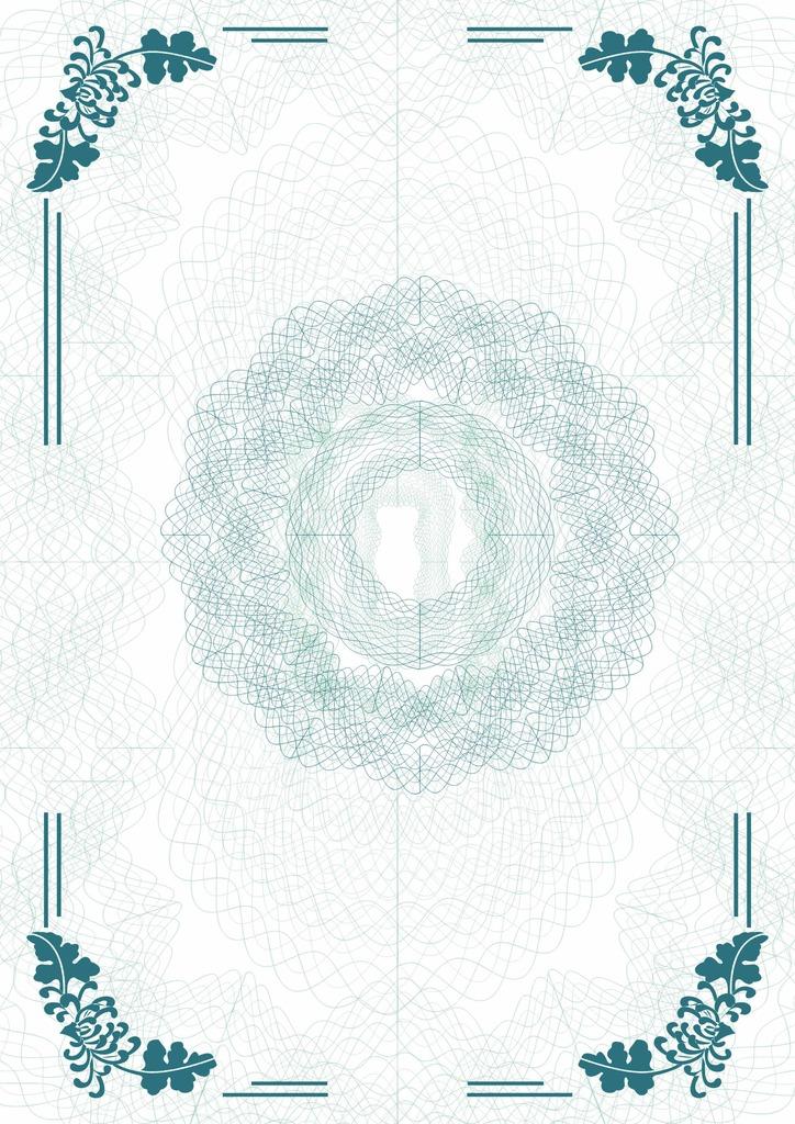 ppt背景 蓝色 手绘花