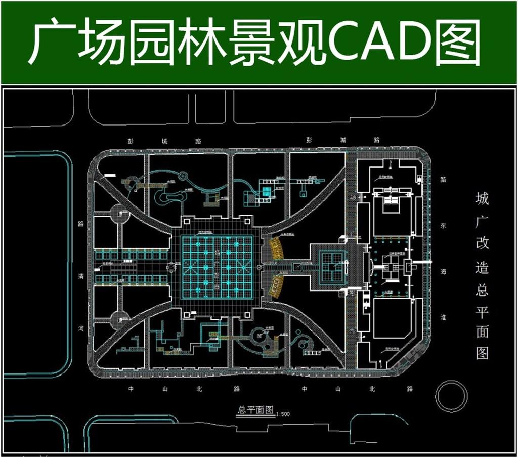 园林cad设计图模板下载(图片编号:12304214)
