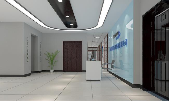 室内设计 整套3d模型 工装模型 > 办公空间前台接待  下一张&gt