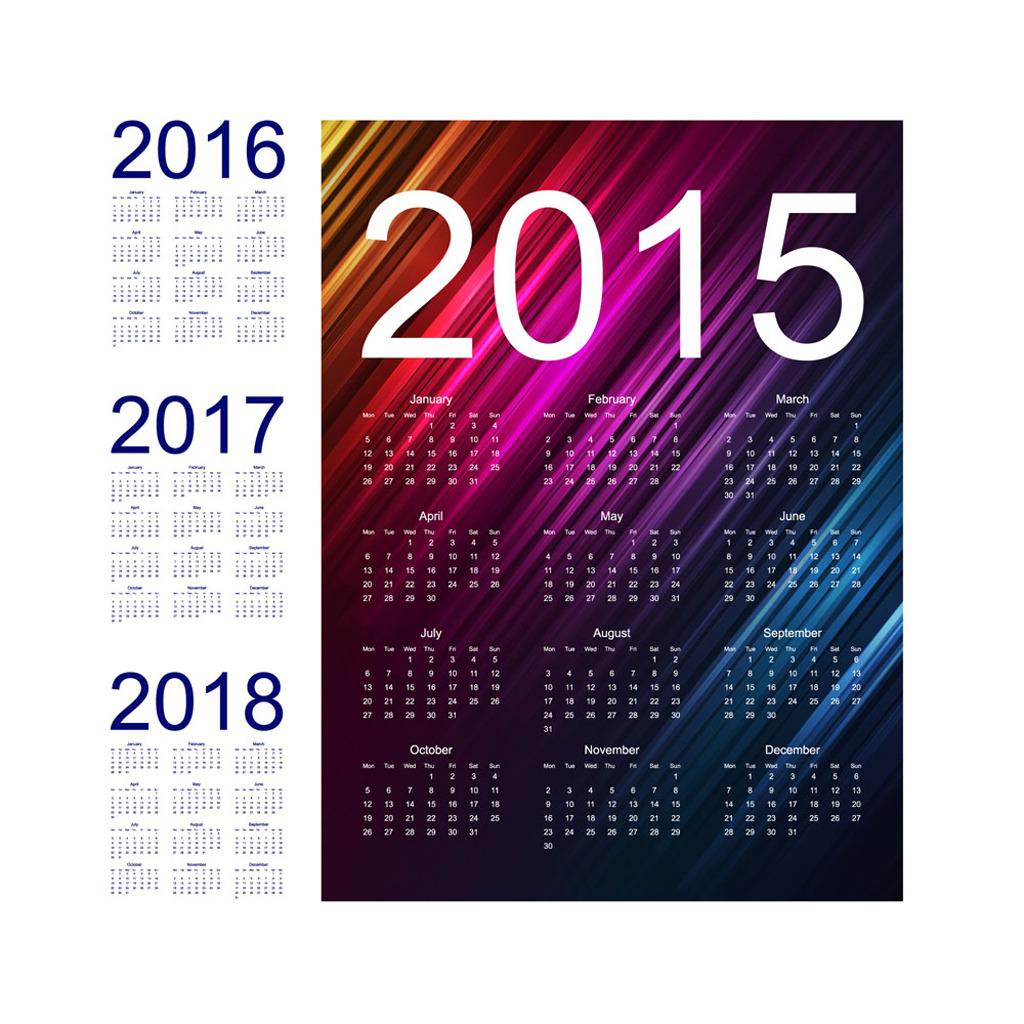2015年台历设计模板下载(图片编号:12306409)图片