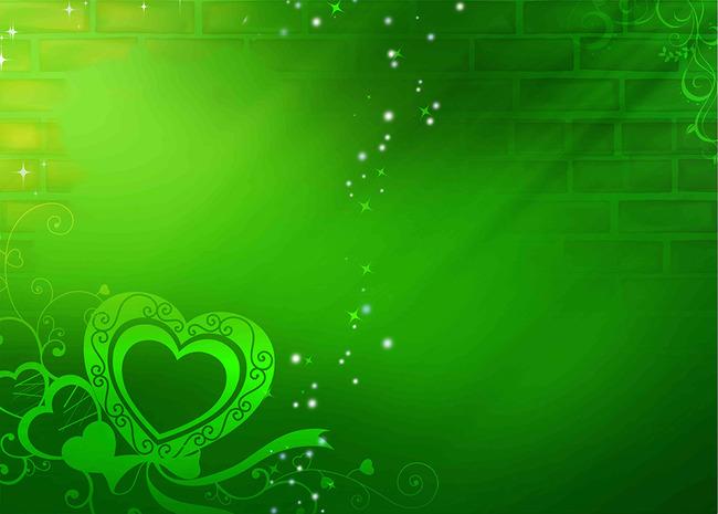 背景墙|装饰画 电视背景墙 手绘电视背景墙 > 绿色心墙梦幻花朵花卉