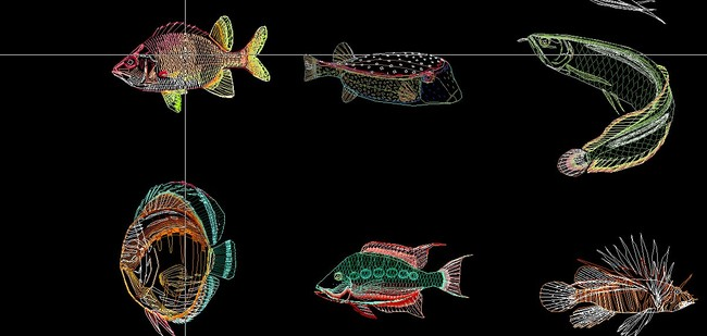室内设计 cad图库 家居用品cad图纸 > 观赏鱼cad鱼缸  下一张&