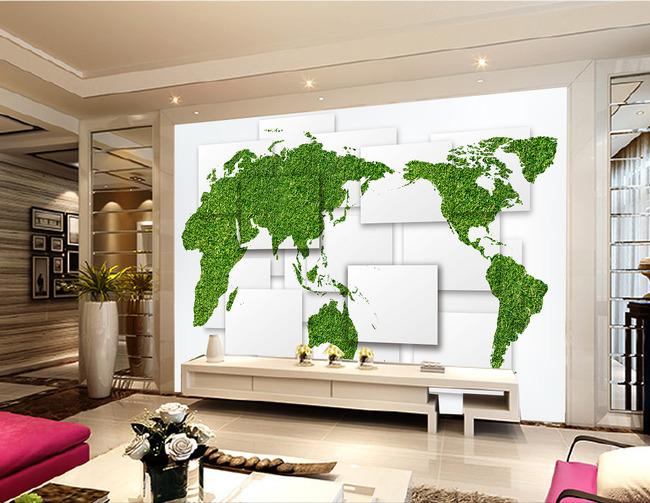 界地图背景墙图片
