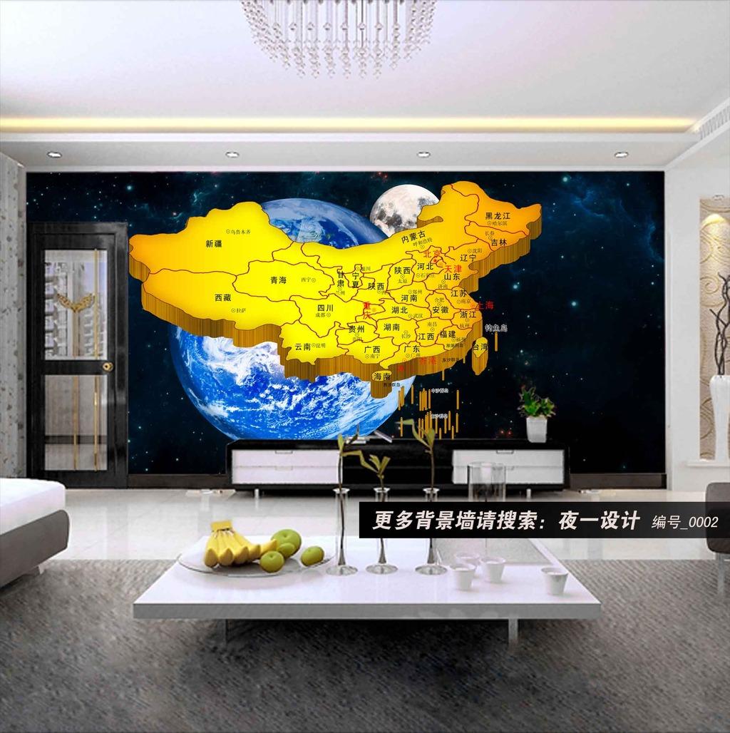 油画|立体油画电视背景墙