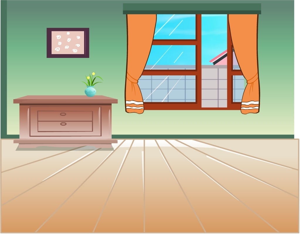2014flash卡通动画室内场景
