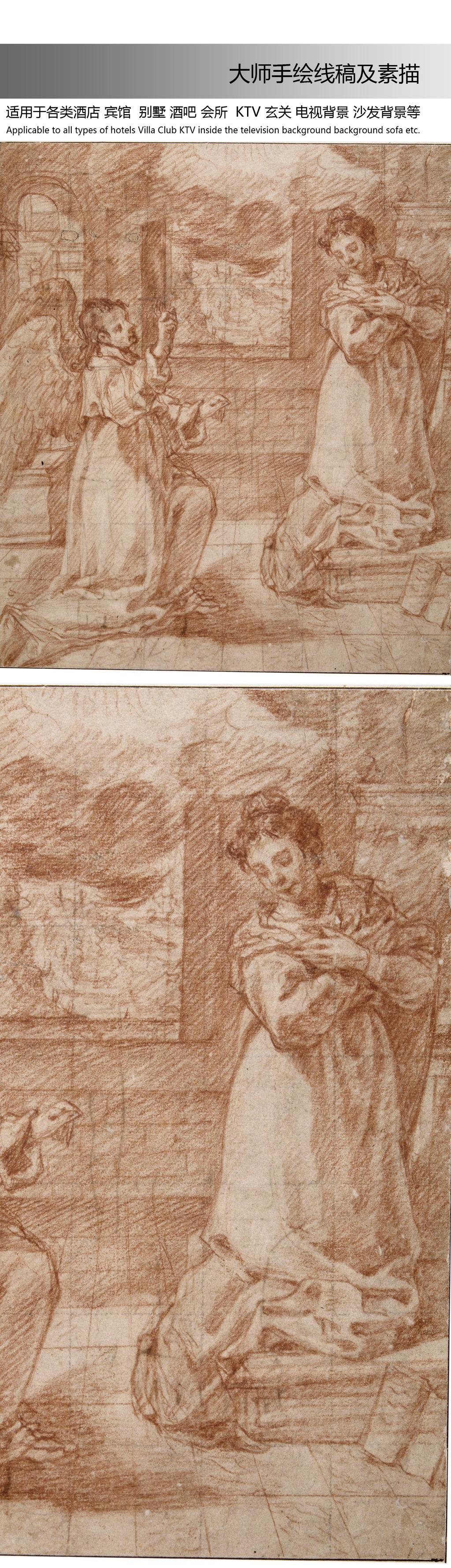 大师素描模板下载 大师素描图片下载 大师手绘 大师素描 国外大师素描