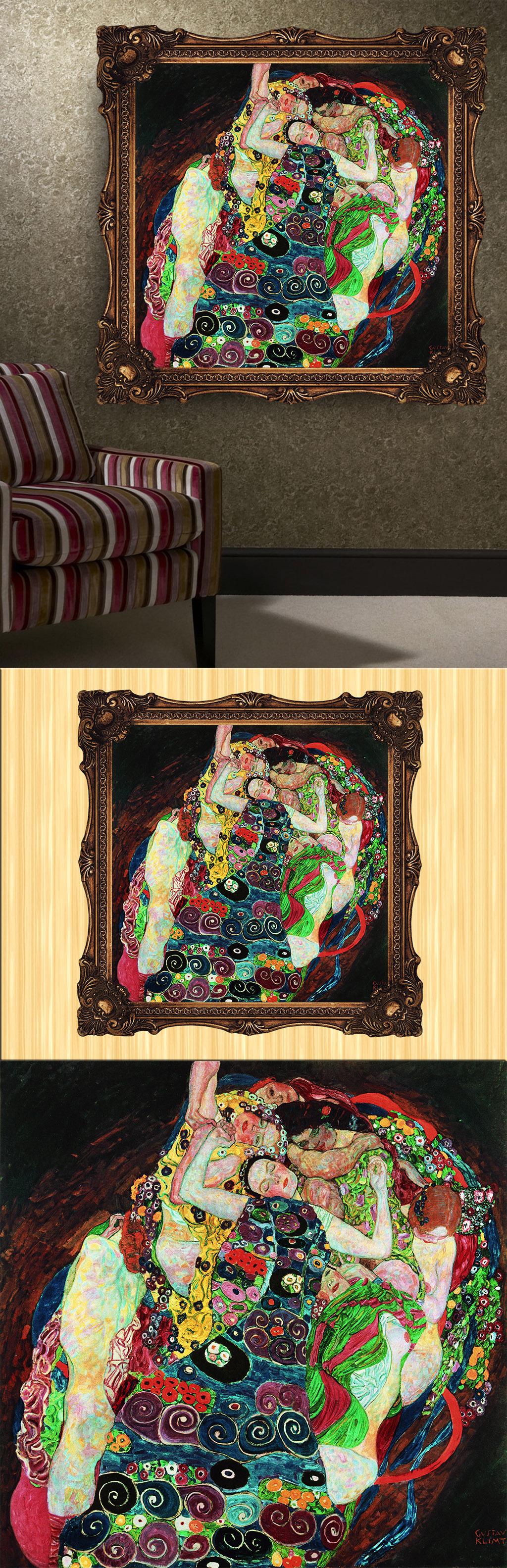 人物 女性 风格/[版权图片]现代抽象风格女性人物油画