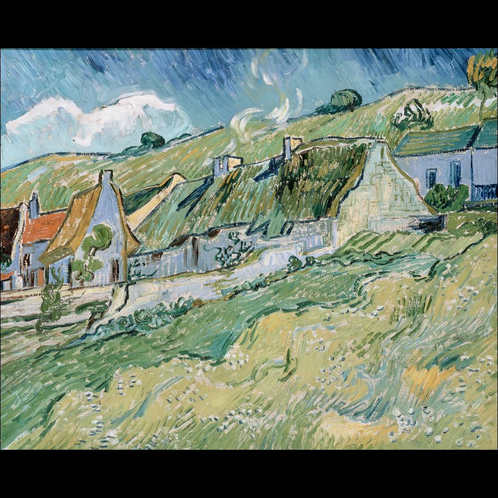 风景 油画/[版权图片]法国新印象派风景油画抽象油画