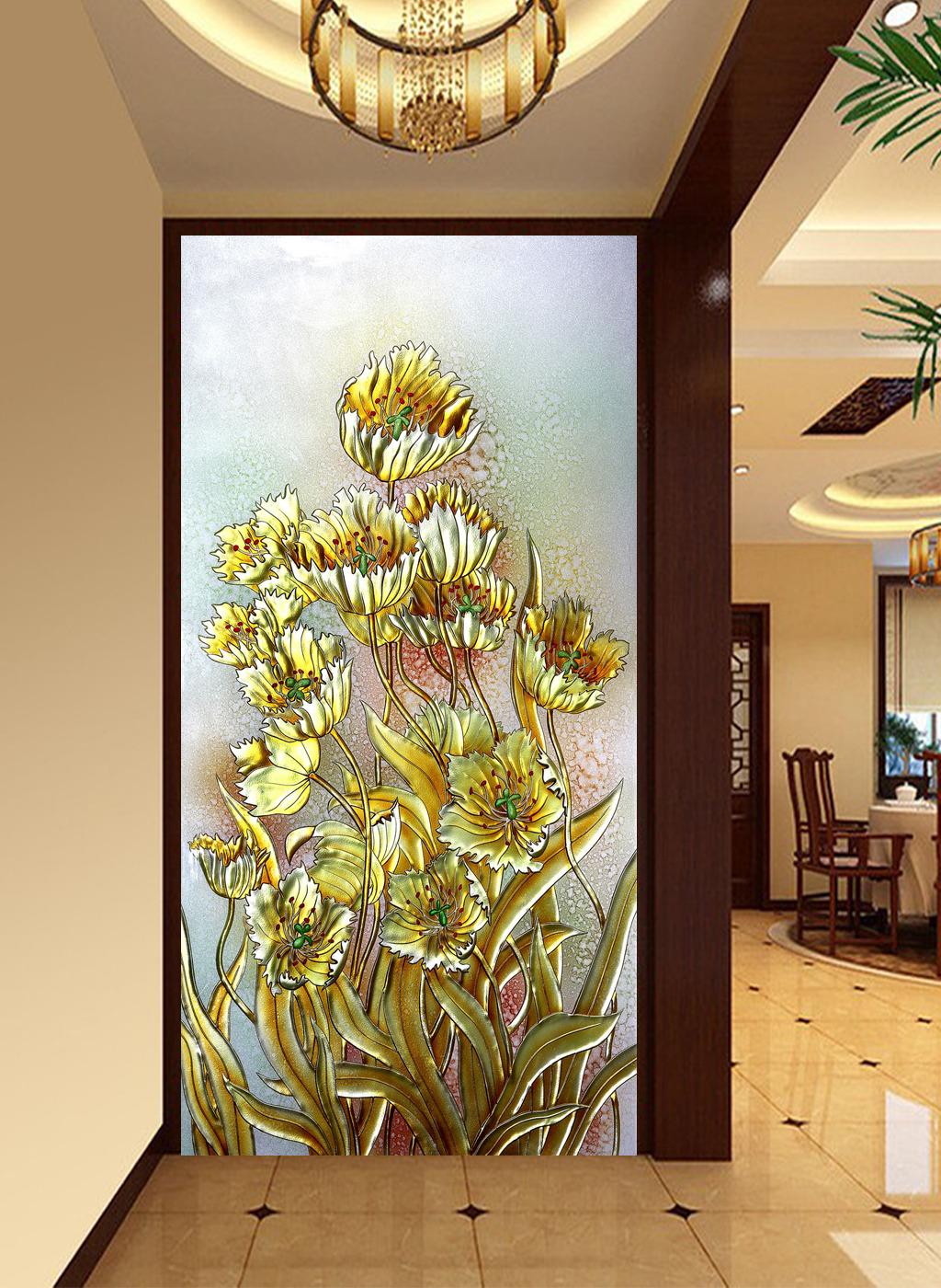 背景墙|装饰画 玄关 3d玄关
