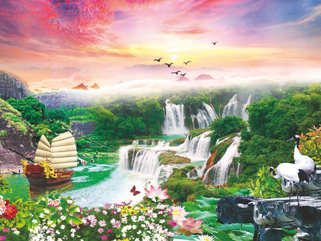 山水风景画3