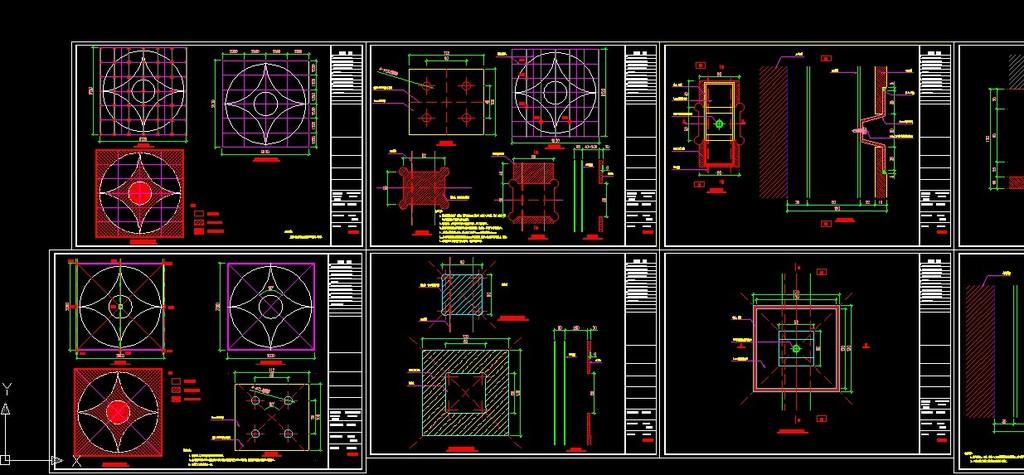 cad欧式构件雕花图库模板下载(图片编号:12340335)