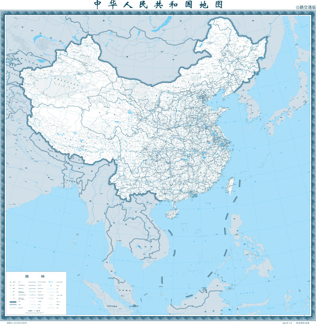 中国交通地图高清版