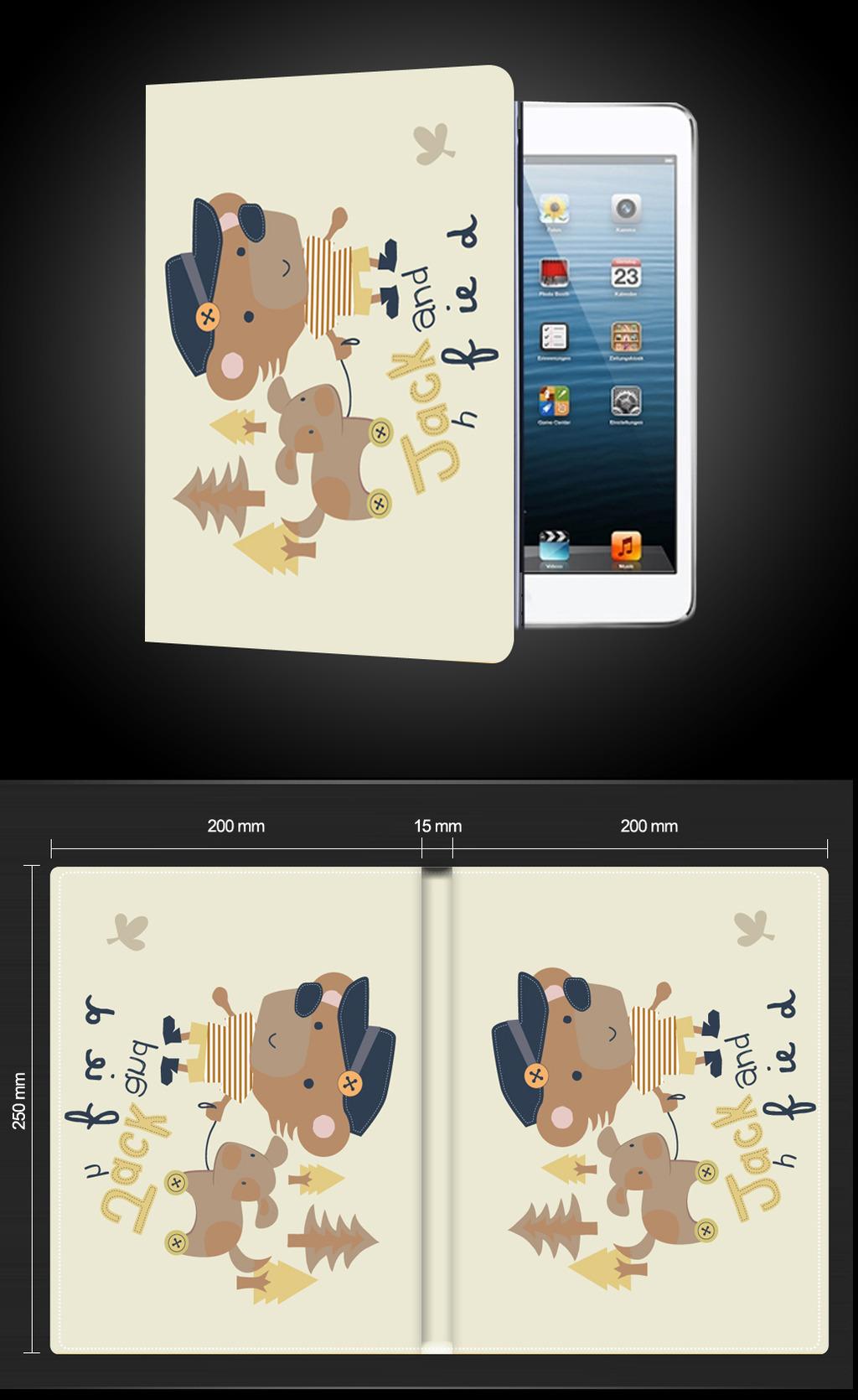 可爱卡通小狮子平板电脑保护套