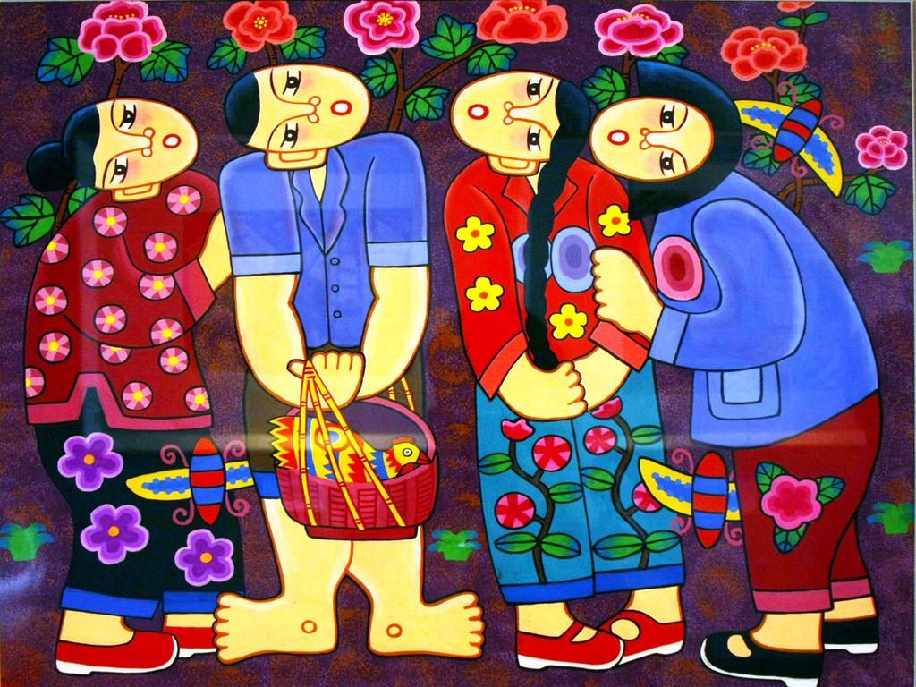 民族装饰画