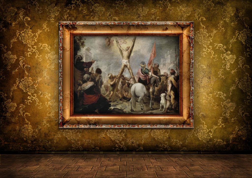 欧洲神话油画图片