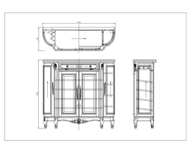 cad图库 家具设计图 柜子图纸 > 经典美式古典鞋柜cad文件  下一张&